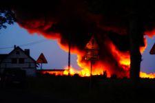Pożar odpadów we Wszedniu