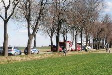 Wypadek samochodowy w Zalesiu