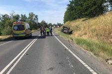 Policjanci wyjaśniają okoliczności wypadku w Rogowie